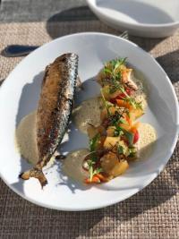 Venez découvrir le menu hivernal du chef Denis et de sa brigade au Sporting plage.