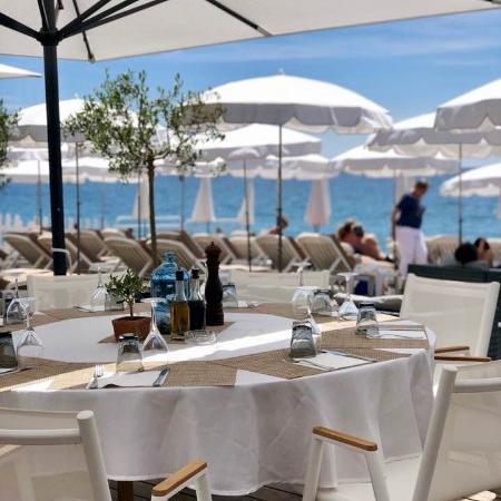 Restaurant méditerranéen à Nice, en face de La Promenade des Anglais